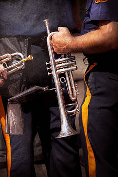 Mike Savad - Music - Trumpet - Police marching band