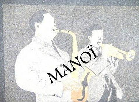 Musiciens by Gilberte Figaroli