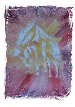Mustang Dance by Mark Schutter