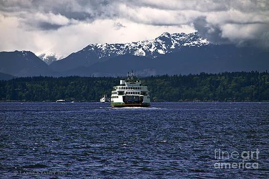 MV Kaleetan Ferry by Larry Keahey