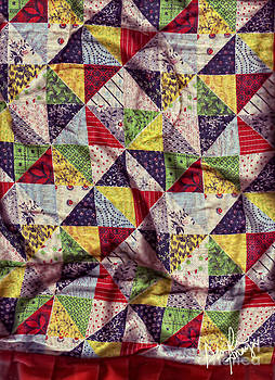 My Grandmother's Quilt by Dinah Anaya