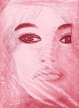 Anne-Elizabeth Whiteway - My Sketch of Brigitte Bardot