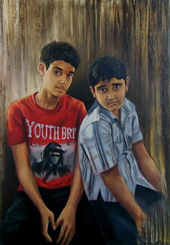 My Two Sweet Brothers by Romi Soni