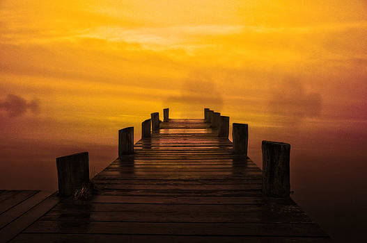 Mystic Dawning by Kim Shatwell-Irishphotographer