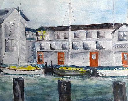 Mystic Harbor by Linda Pope