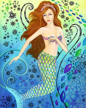 Mystic Mermaid by B K Lusk