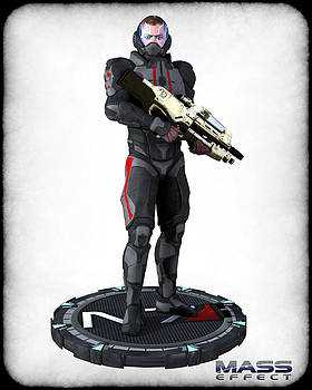 N7 soldier v2 by Frederico Borges