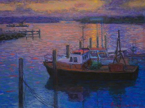 Terry Perham - Napier Sunset