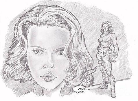 Chris  DelVecchio - Natasha Romanova- Black Widow