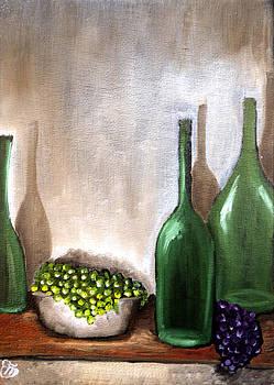 Natura morta con uva by Simona  Mereu