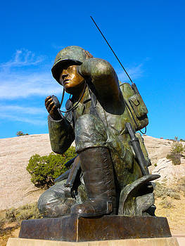 Navajo Code Talker by Feva  Fotos