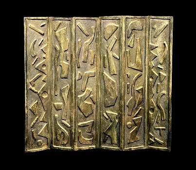 Nefertiti Screen by John Casper