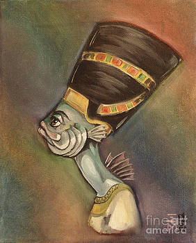Nefertiti The Fish by Ellen Marcus