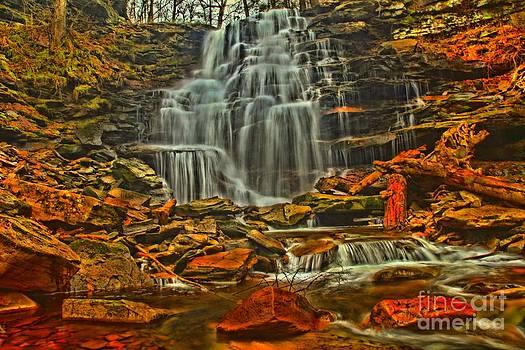Adam Jewell - Neon Rock Falls