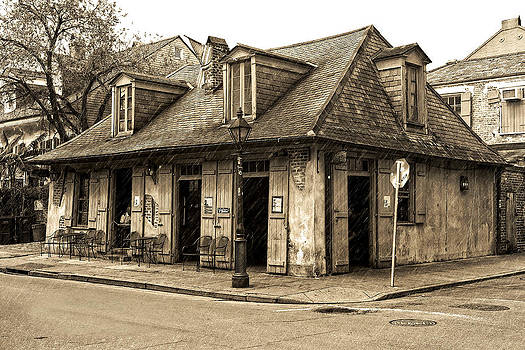 New Orleans Pub by Cecil Fuselier