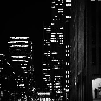 New York At Night by Eli Maier