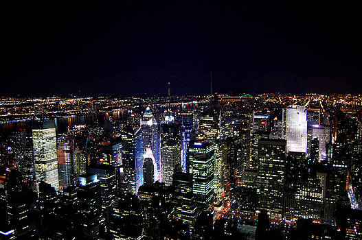 New York Lights by Simon Clare