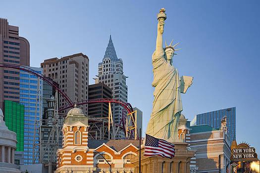 New York New York Hotel And Casino Las by Bryan Mullennix