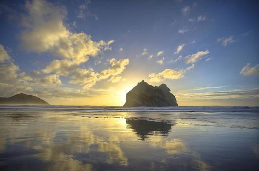 New Zealand Sunset by Jeremy D Taylor