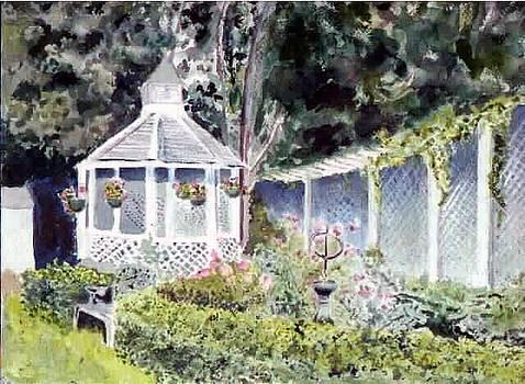 Newburyport Gazebo by Linda Pope