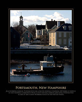 NH Working Harbor by Jim McDonald Photography