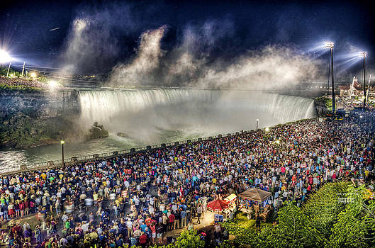 Niagara Falls Wallenda Walk by J R Baldini Master Photog