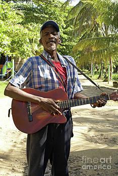 John  Mitchell - NICARAGUAN MUSICIAN Big Corn Island Nicaragua