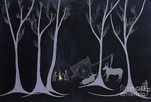 Night Halt by Vilas Malankar
