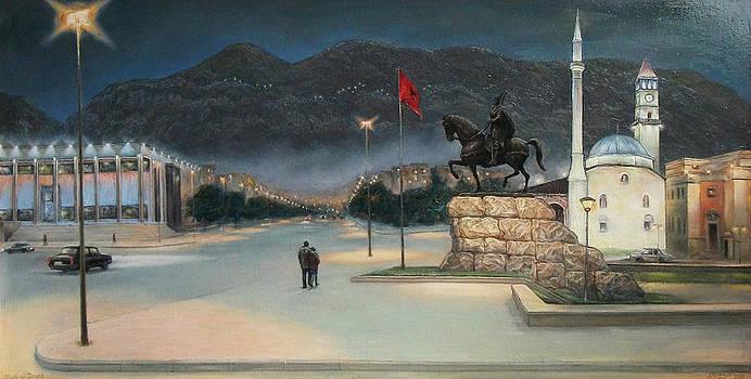 Night in Tirana by Lazar Taci