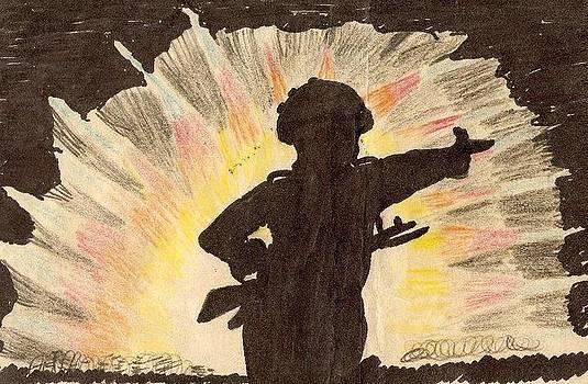 Night War Fare  by Danish Anwer