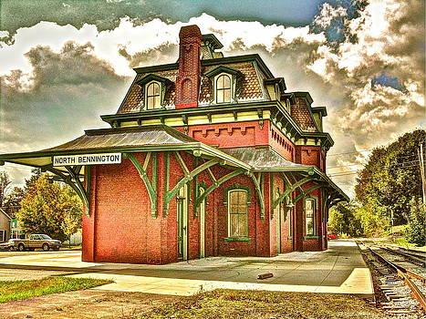 North Bennington Vermont Depot by Frank SantAgata