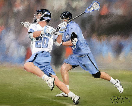 College Lacrosse 11 by Scott Melby