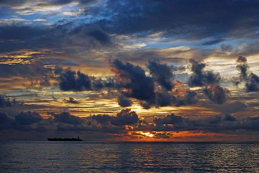 Northbound at Sunrise by Ken  Collette