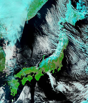 National Aeronautics and Space Administration - Northeastern Japan Before Tsunami