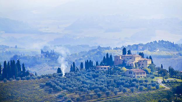 Nostalgic Tuscany by Mariola Szeliga