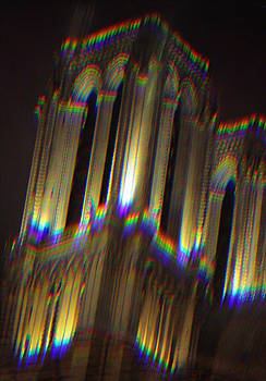 Notre Dame Towers by Ron Morecraft