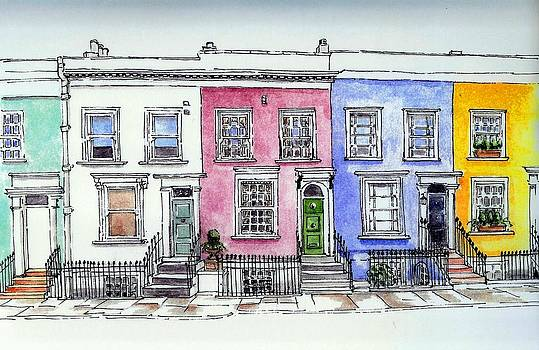 Yvonne Ayoub - Notting Hill Cottages