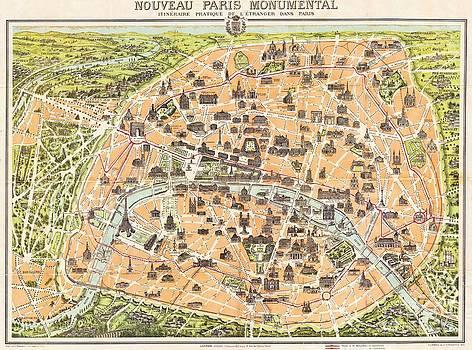 Reproduction - Nouveau Paris Monumental