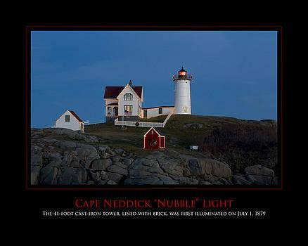 Nubble Light by Jim McDonald Photography
