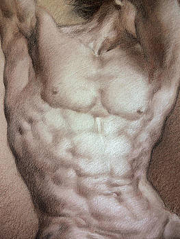 Nude 9 b by Valeriy Mavlo