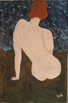 Nude in the night by Voda Tenerife