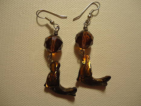 Nude Mermaid Earrings by Jenna Green