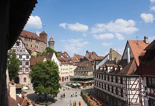 Nuremberg historic center by Andrew  Michael