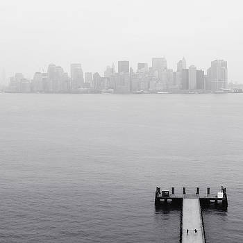 NYC View from Liberty Island by Nina Papiorek