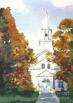 Oakdale United Methodist Church by Lynn Babineau