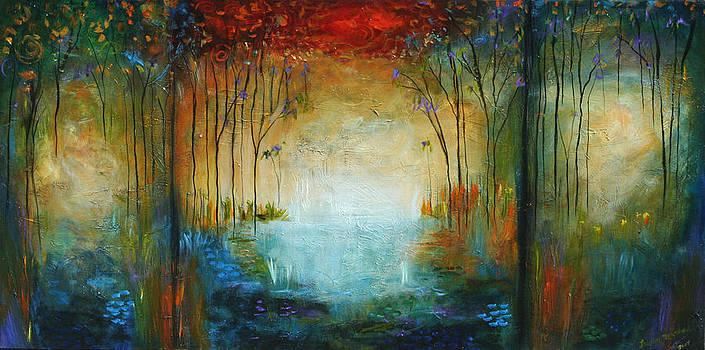 Ocean and Garden by Lauren  Marems