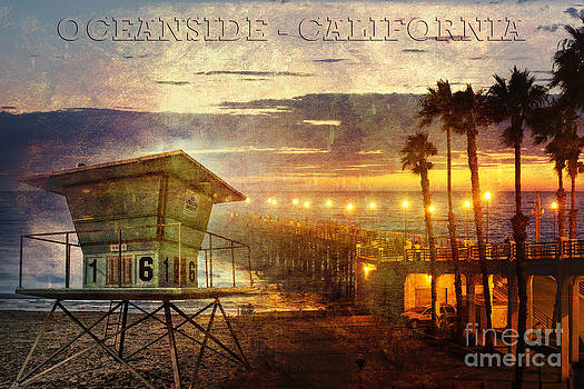 Oceanside California by Alan Crosthwaite