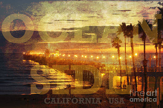 Oceanside Grunge by Alan Crosthwaite
