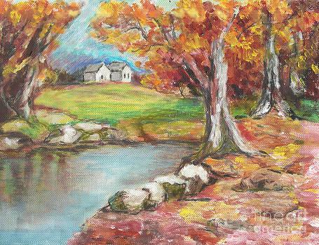 Oil Pastel by Lyn Vic