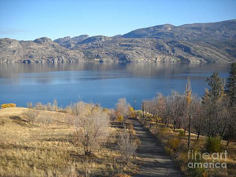 Okanagan Lake by Chris Murphy Elliott
